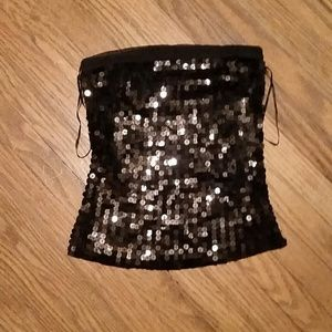 The Limited sequined tube top sz.XS